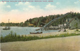 Bathing Pavilion abd Boat House, Whalom Park, Mass.